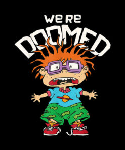 Rugrats Chuckie We're Doomed T-Shirt