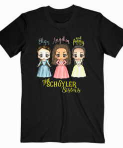 Schuyler Sisters Kawaii Art by Mary Layton Premium T-Shirt
