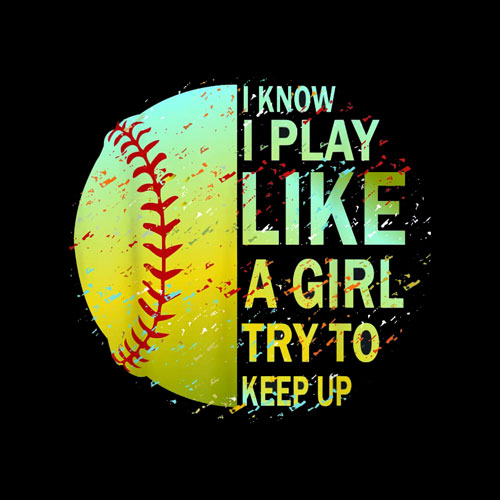 Softball Shirts for Girls Softball T-Shirt