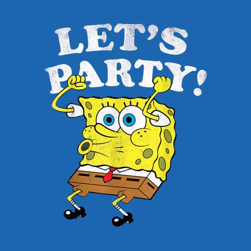 Spongebob Squarepants Lets Party T-Shirt