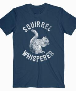 Squirrel Whisperer Vintage Squirrel Lover T-Shirt
