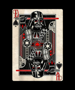 Star Wars Darth Vader King of Spades Graphic T-Shirt