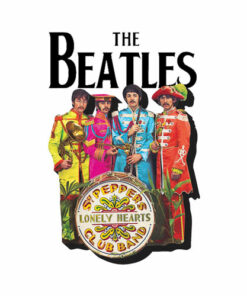 The Beatles Lonely Hearts Sergeant Band T-shirt