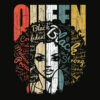 African American Shirt for Educated Strong Black Woman Queen T Shirt
