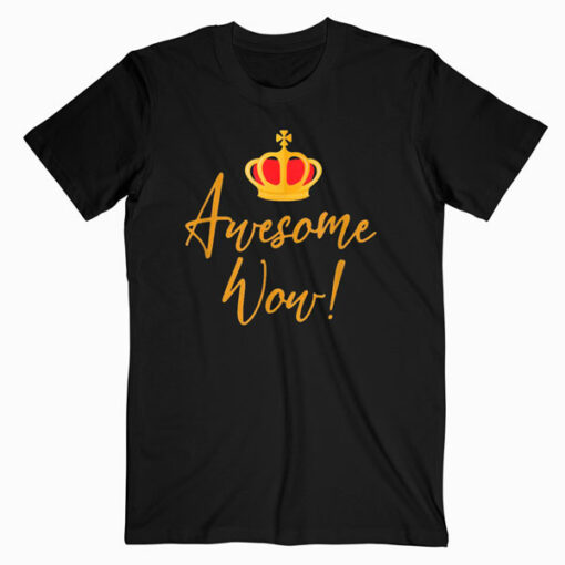 Alexander Hamilton Gift Awesome Red Crown Historic Hamilton T Shirt