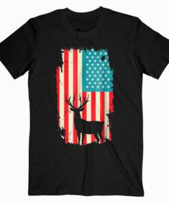 American Deer Hunter Patriotic T Shirt For men Women