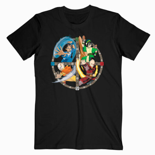 Avatar The Last Airbender All Characters T Shirt
