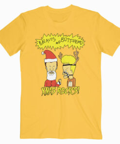 Beavis And Butt Head Xmas Rocks Funny T Shirt