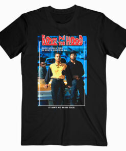 Boyz N The Hood Doughboy and Tre Once Upon A Time Portrait T Shirt