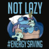 Disney Lilo and Stitch Not Lazy Energy Saving T Shirt