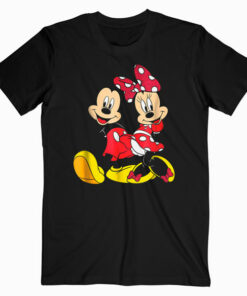 Disney Mickey and Minnie Big Mouse T shirt