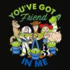 Disney Pixar Toy Story Cartoon Group Shot Graphic T Shirt