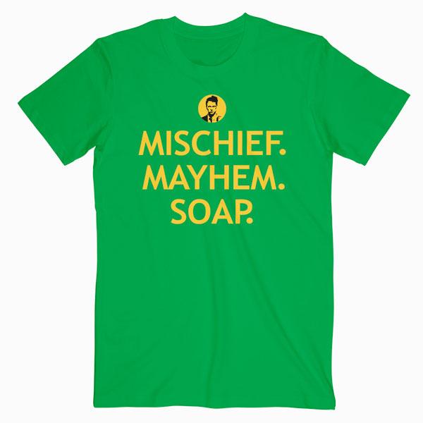 legendary movie t-shirt fighting theme Fight club soap tee