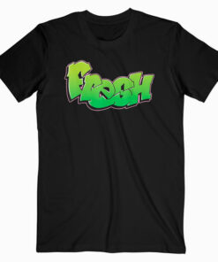 Fresh Graffiti Style Graphic T Shirt