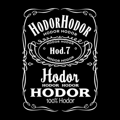 Game Of Thrones Hodor Jack Daniels T Shirt