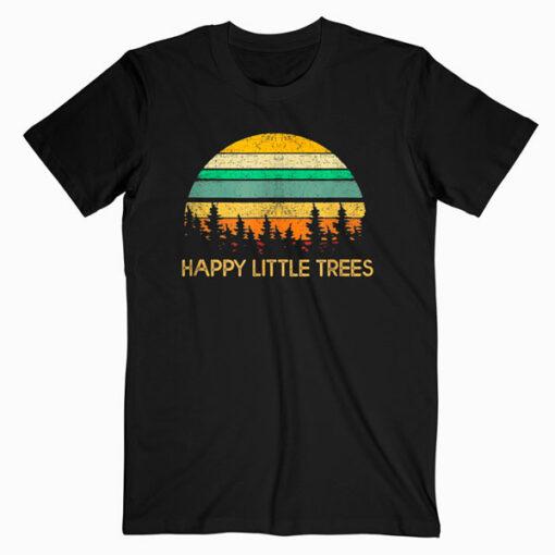 Happy Little Tree Bob Style Vintage Tshirt