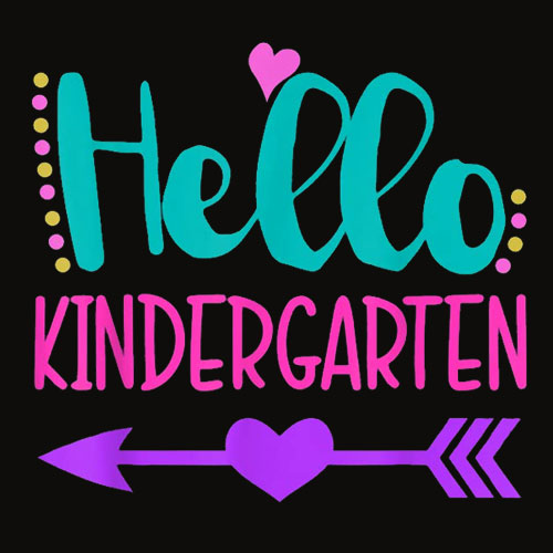 Hello Kindergaten 1st Day of Kindergarten Cute T Shirt