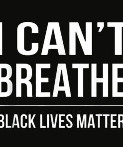 I Can't Breathe Black Lives Matter T Shirt