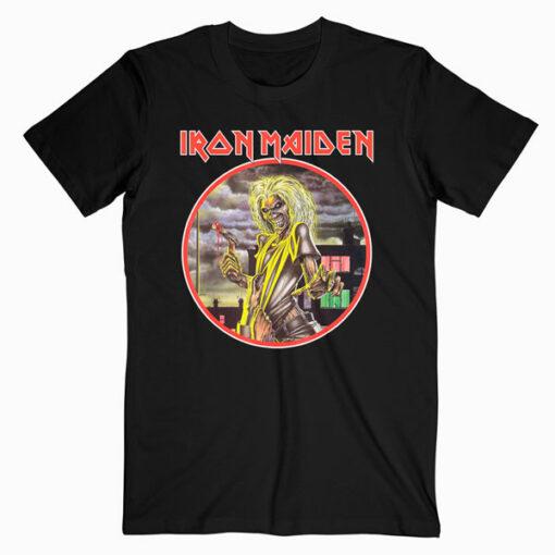 Iron Maiden Killers circle Band T Shirt
