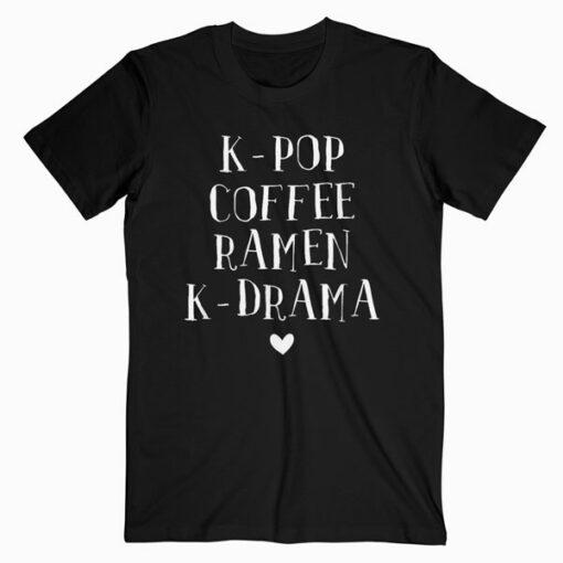 Kdrama Merchandise Korean Drama Merch K pop K Drama Kpop T Shirt