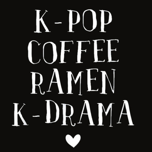 Kdrama Merchandise Korean Drama Merch K pop K Drama Kpop T Shirt
