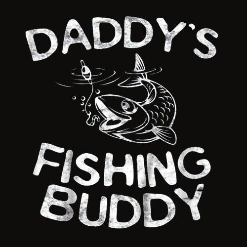 Kids Daddy's Fishing Buddy T Shirt
