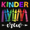 Kinder Crew Kindergarten Teacher T Shirt