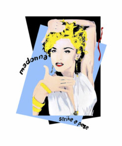 Madonna Licensed Strike A Pose Band T Shirt