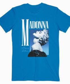 Madonna True Blue Band T Shirt