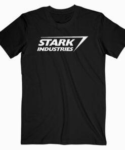 Marvel Iron Man Stark Industries Logo Graphic T Shirts