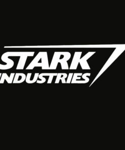 Marvel Iron Man Stark Industries Logo Graphic T Shirts