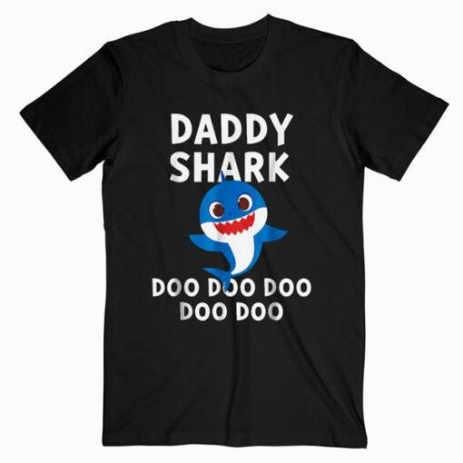 Mens Pinkfong Daddy Shark Official T shirt