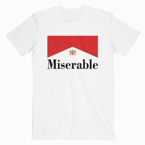 Miserable Insipred Marlboro T Shirt