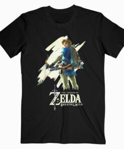 Nintendo Zelda Breath of the Wild Link Stare Graphic T Shirt