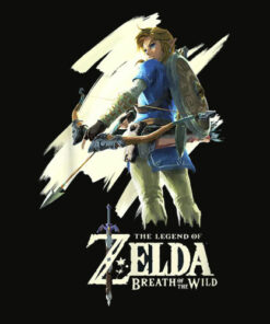 Nintendo Zelda Breath of the Wild Link Stare Graphic T Shirt