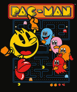 Pac Man Official Pacman Video Game Shirt