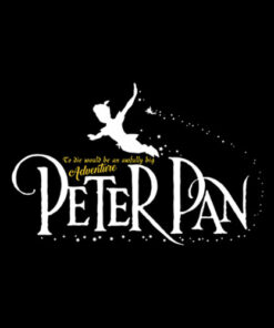 Peterpan Quote T shirt