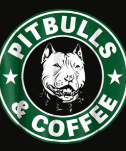 Pitbull and Coffee Shirt