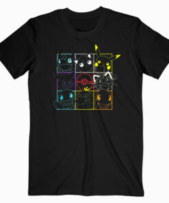 Pokemon Grid T Shirt