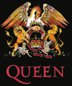 Queen Official Classic Crest T Shirt