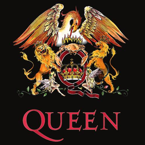 Queen Official Classic Crest T Shirt