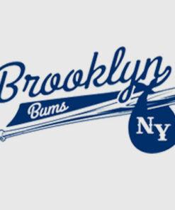 Retro Brooklyn Bums New York Baseball T Shirt