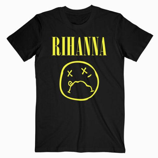 Rihanna Band T Shirt Nirvana