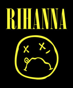 Rihanna Band T Shirt Nirvana