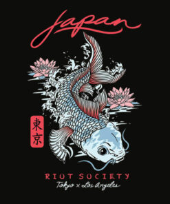 Riot Society Men's Graphic T Shirt