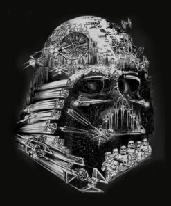 Star Wars Darth Vader Build The Empire Graphic T Shirt