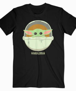 Star Wars The Mandalorian The Child Bassinet Portrait T Shirt