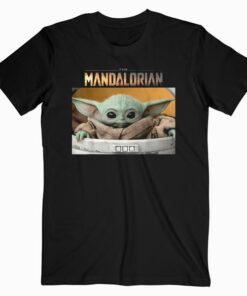Star Wars The Mandalorian The Child Pod Screenshot Logo T Shirt