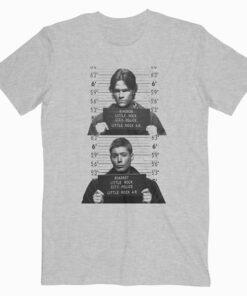 Supernatural Sam Dean Mugshots Tshirt
