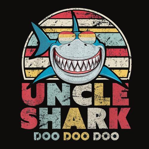 Uncle Shark T Shirt Doo Doo Doo Tee